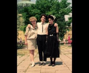 1988, Székesfehérvár - hurrá, levizsgáztunk!